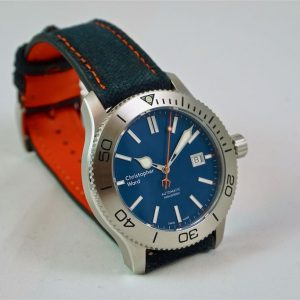C60 Trident 316L Blue Limited Edition – Christopher Ward